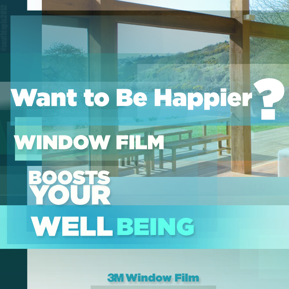 Want to Be Happier? Window Film Boosts Your Well Being!