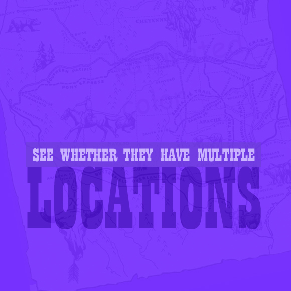 See Whether They Have Multiple Locations