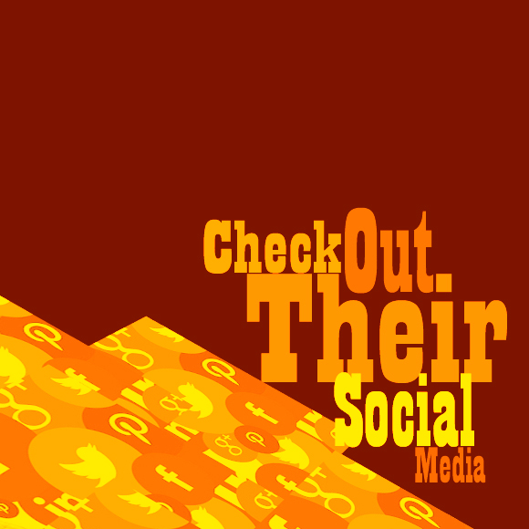 Check out Their Social Media