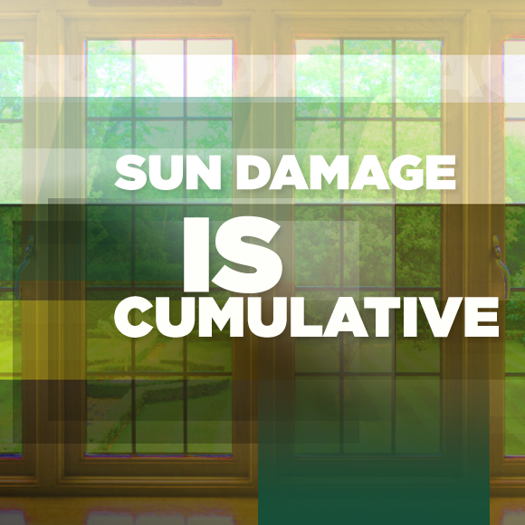 Sun Damage is Cumulative