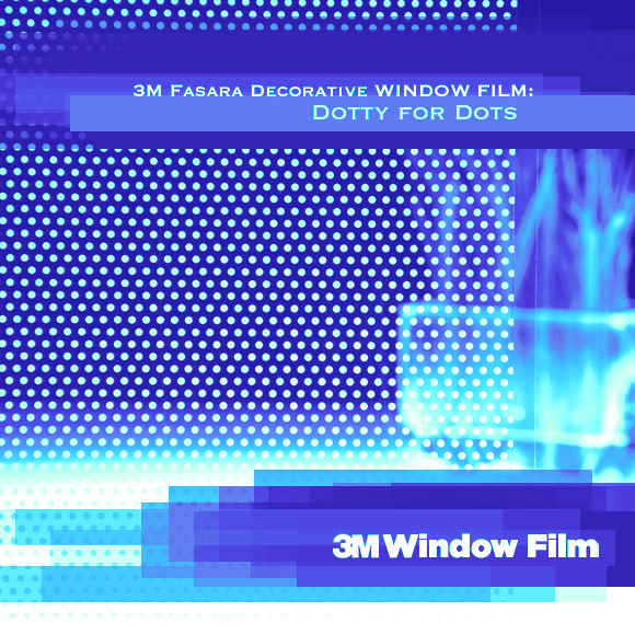 3M Fasara Decorative Window Film: Dotty for Dots